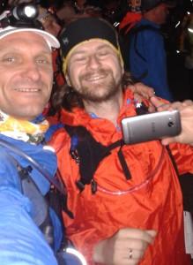 Jeszcze selfie przed startem ;)