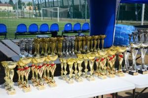 Puchary dla zwycięzców.