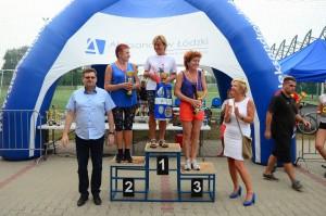 I miejsce na podium w K50 - Jadzia Szczepaniak.