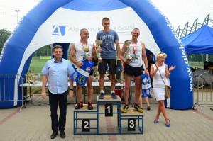 III miejsce na podium dla najlepszego aleksandrowianina - Darek Andrzejczak.