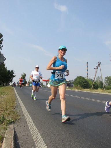 Dopiero trzeci kilometr, koło osiedla Zielony Romanów.