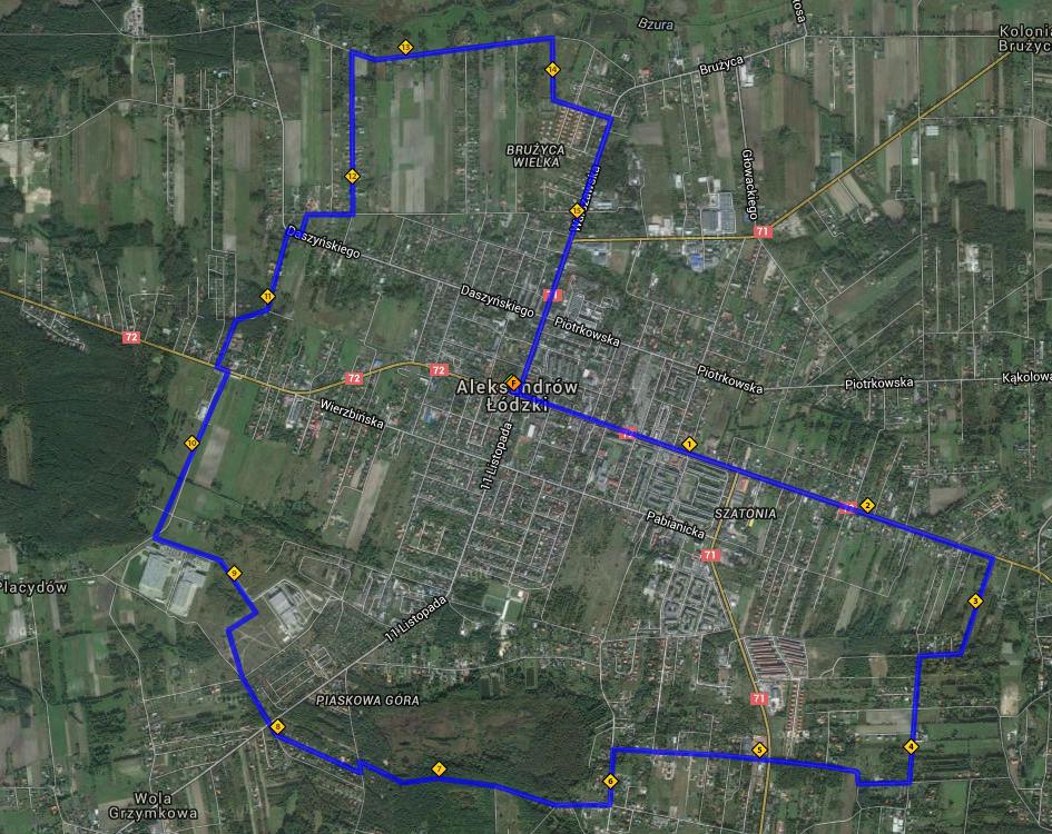 Noworoczne 16km