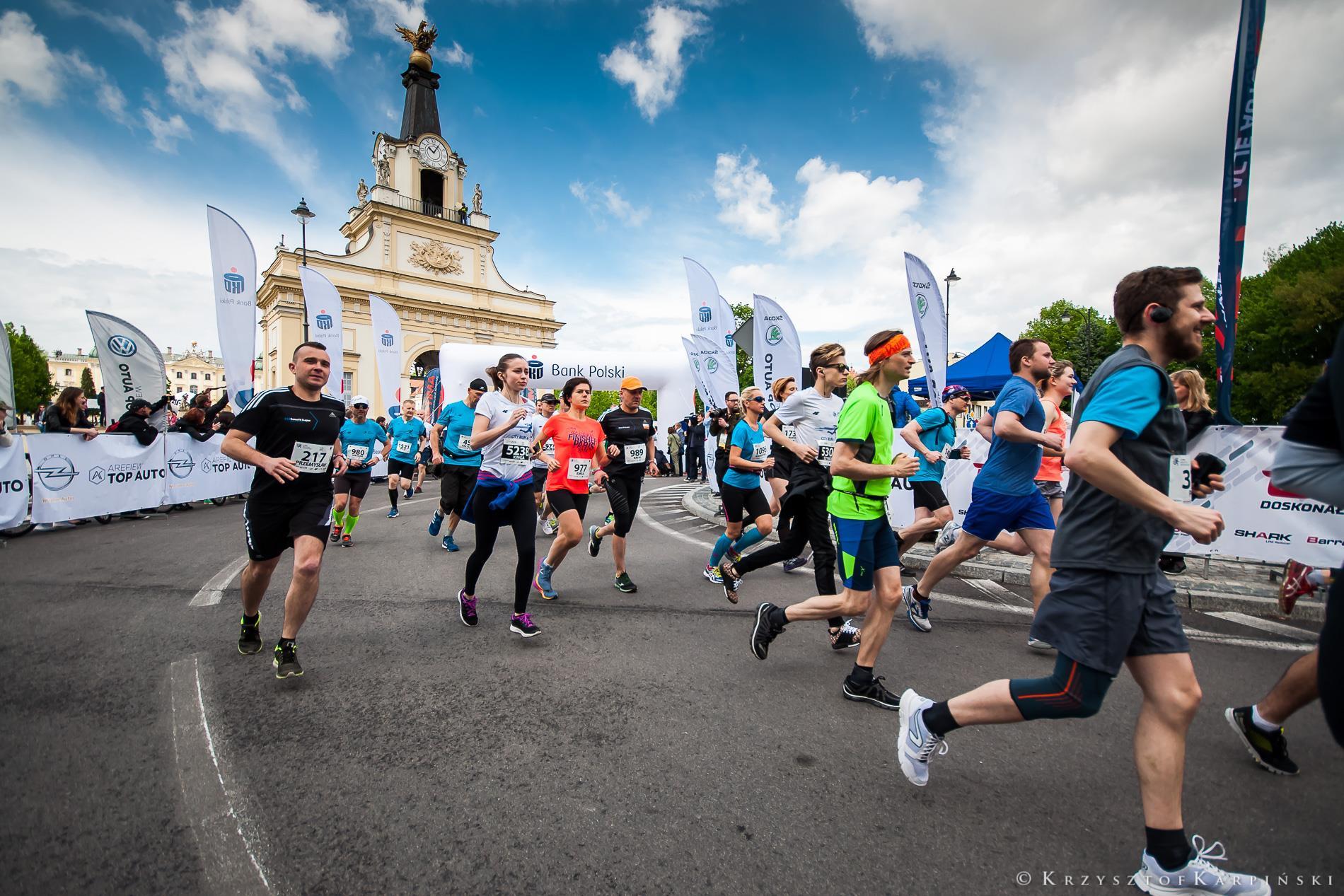 Z trasy półmaraton białostocki